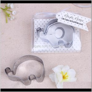 Favor Little Elephant Cookie Cutter Baby Shower Favors Stainless Steel Biscuit Cutters Mold Wedding Party Giveaway Ffa3708 Rj8D2 Zbbuf