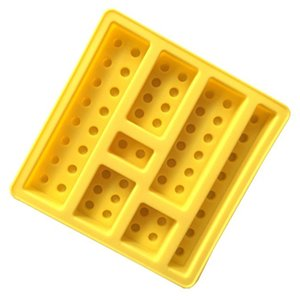 Cake DIY Building Blocks Moulds Tools Silicone Chocolates Molds Ice Cream Mold Handmade Chocolate Mould Ices Cube KKB6974