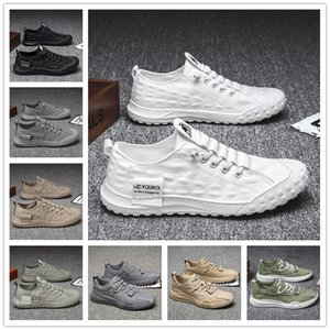 two selling man breathable running shoes mesh sports sneakers adult mans trainers outdoor walking Black White Grey fly