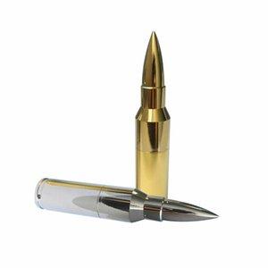 32GB USB 2.0 Metal Bullet Flash Drives Portable Memory Stick U Disk Thumb Drive
