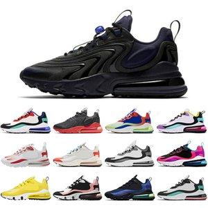 Reaccionar zapatillas para hombres para hombres Mujeres Triple Negro Blanco Gris Pine Green Gusto Varsity Blue Pink Pink Clásico Tristes para hombre Deporte Sneaker