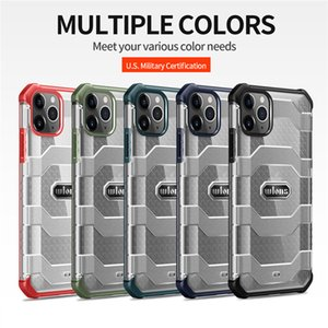 Multiple Colors Military Shockproof Cell Phone Cases For iPhone 12 Pro 12Mini 11Pro Max 7 8 Plus XR XS Armor Cover