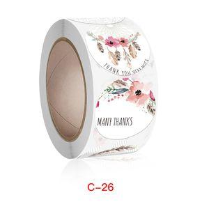 Thankyou Sticker Tag Bake Crafts Wedding Decor 1221074