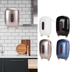 Electric Kettles Gereedschap 6500W Instant Water Heater Fast Heating Temperature Display 220V For Household Kitchen Bathroom Hardware