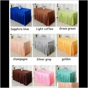 Custom Home Textiles Party Tulle Tutu Skirt Birthday Baby Shower Wedding Table Decorations Diy Craft Qy3Fe Pormy