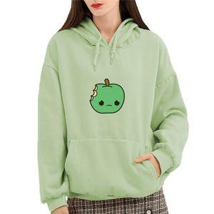 Sport Jumper Women Cotton Hoodie Womens Graphic Sweatshirts Pulls Pour Femmes Oversize Cartoon Print Thick Loose Femmes Hoodies