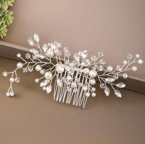 Clips Jewelryclips & Barrettes Jewelry Handmade Color Rhinestone Comb Hair Ornaments Women Pin Bridal Wedding Headpieces Drop Delivery 2021