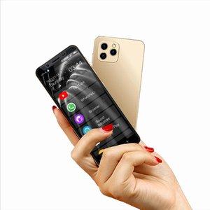 غير مقفلة 4G LTE Anica I11S الهواتف المحمولة Mini WhatsApp الهاتف الذكي 16GB 32GB 64GB 128GB ROM Telefone 5 بوصة الهاتف المحمول الأصلي 13MP الوجه المعرف المزدوج SIM الاستعداد الروبوت 9.0