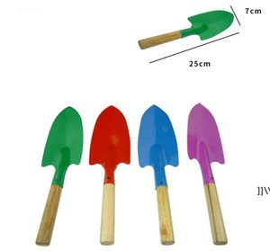 Mini Gardening Shovel Colorful Metal Small Shoveles Garden Spade Hardware Tools Digging Kids Spades Tool AHB6781