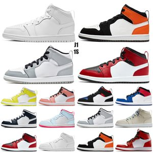 AJ1 Gym Red XI 11 Kleinkind Schuhe Bred Space Jam Kinder Basketball Sneaker Concord Gamm Blau New Born Baby Infant 11s