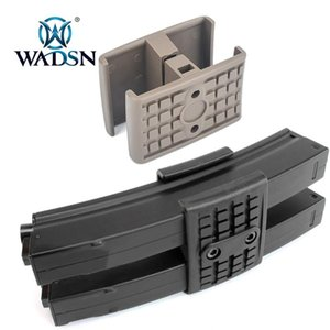 Wadsn Tactical MP5 MP5K Double Magazine Clamp Holder Nylon Hunting Rifle Mp5 Fast Dual Mag Clip Gun Accessoorries Accessories
