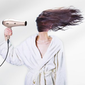 Hair Dryers 3200W Electric Dryer High Quality Power Negative Ion Quick Drying Machine  Cold Wind With Air Collecting Nozzle 40D