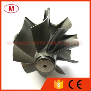 G42 75.25 82mm 9 blades Reverse Ball Bearing Turbocharger Turbo Turbine Shaft &Turbine Wheel