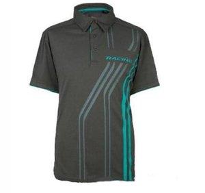 F1 Temporada Coche Ventilador de Carreras Camiseta Equipo de manga corta Traje de secado rápido Hombres y mujeres Camisa de polo de solapa