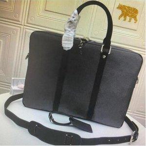 حقائب صغيرة حقائب بوابة وثائق رحلة حقيبة الأعمال التجارية الرجال الكتف محمول حقيبة يد حقيبة الكمبيوتر دافيل حقيبة M52005 N41466 PM