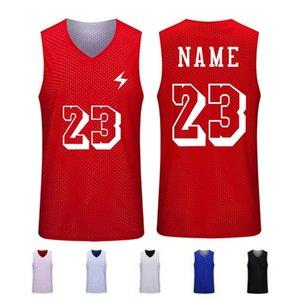 Взрослые мальчики Баскетбол Джерси, Мужчины Дешевые Баскетбольная форма, Бесплатные пользовательские спортивные футболки, обратную клетку