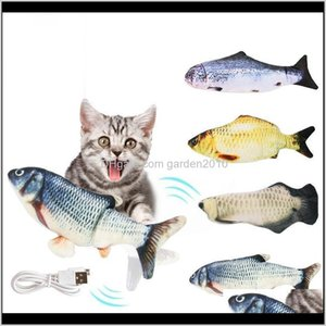 For Vip Spain Electric Cat Toys 3D Interactive Usb Bite Resistant Fish Toy Eexqf Bfsqr