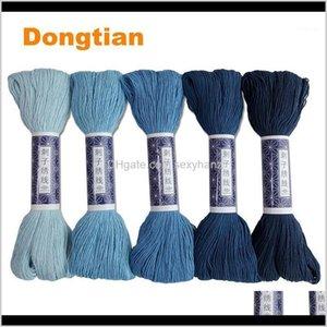 Yarn 100Meterpiece 100 Cotton 10 Strands Thick Sashiko Thread 15 Colors Available1 Btgmf P3Vjw