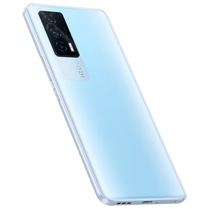 Original Vivo iQOO Neo 5 5G Mobile Phone 8GB RAM 128GB 256GB ROM Snapdragon 870 48MP AR NFC 4400mAh Android 6.62 inch Full Screen Fingerprint ID Face Wake Smart Cellphone