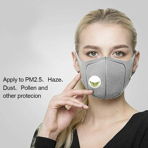 Anti Dust Sponge Mask Activated Carbon Filter Face Mouth Masks individual package Reusable Mouth Cover Anti Fog Respirator