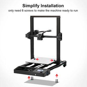 3D-принтеры Сканеры Дизайн Принтер 310 * 310 * 400 мм Большой размер печати FDM и PLA / ABS / PETG NILECACE 1,75 мм Быстрая прототипирование творческого игрушечного подарка. S3A0