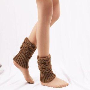 Çorap Çorap F1 Çifti Kadın Tığ Boot Manşetleri Örgü Toppers Kış Mujer Sıcak Tutun