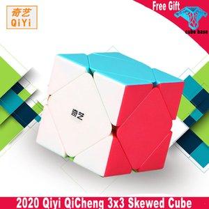 Qiyi QiCheng 3x3x3 Speed Magic Cube Skewed Speed Cube QICHENG 3x3 Skew Puzzle Magic cubo Toy qiyi 3x3 professional Skew cube