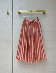 2021 Spring summer Autumn Milan Designer Skirts Fashion A Skirts Women Brand Same Style Skirts 0415-6