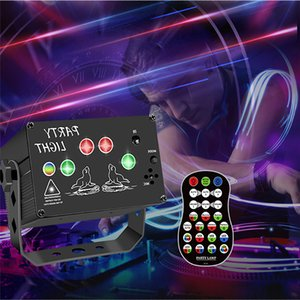 RGB Laser Stage Light Lighting USB Power LED Aurora Patter Dream Disco Projector Red Blue Green Lamp Supply Wedding Birthday Party Lights