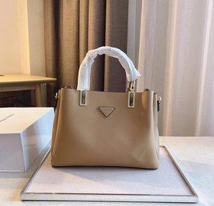Classico borsa da donna di lusso da uomo Designer One-Spalla Boston Borsa TRAPEZE Tote Bowhide reale