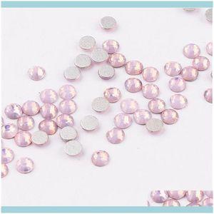 Stickers Decals Salon Health & Beautyss3-Ss30 Opal Shiny 3D Nail Art Rhinestone Non Fix Flatback Glue On Rhinestones For Diy Jlljdt Drop Del