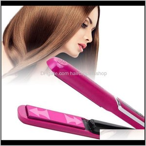 Straighteners Artifact Wireless Shape Curler Portable Electric Splint Straight Volume Dualuse Usb Charging Hair Rollers Pink Bhdlg Cavdh