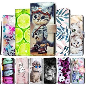 Printed Leather Case For Huawei Honor 7A 7C 7S Flip Wallet Book Style Cute Phone Cover DUA-L22 Pro Honor7c Cell Cases