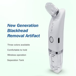 Wholesale Factory Suppliers Microdermabrasion Private Label Portable Rechargeable Electric Pore Cleaner Face Facial Blackhead Remover Vacuum handle hold