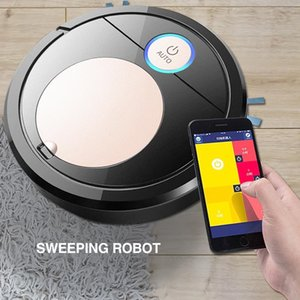 Control Robotic Vacuums Cleaner Smart Robot Vacuum Run 60 Mins Cleaners For Home
