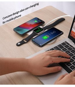 Three-in-one multifunctional mobile phone, watch, earphone, wireless charger with stand