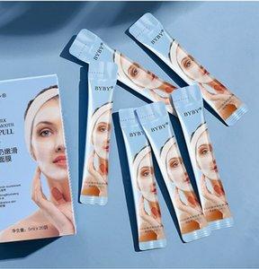 Byby Camel Leite Facial Máscaras Peel-off Mask Remova a acne branca Limpeza Limpo Poros Compact Skin Creme de pele