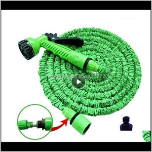 Equipment Outdoor Sports & Outdoors Drop Delivery 2021 25Ft-250Ft Garden Expandable Magic Flexible Water Eu Hose Plastic Hoses Pipe With Gun