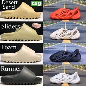 Rahat ayakkabılar yaz köpük koşucu çöl kumu yeryüzü kahverengi reçine kurum erkekler kadınlar üçlü siyah, kırmızı Ağrı delik ayakkabı sandalet slayt serin