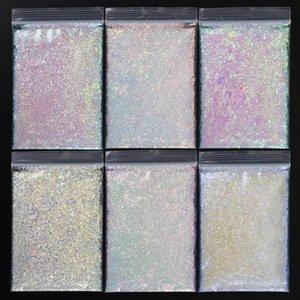 (IN BULK)0.2-2mm Irregular Glitter Sequins For Manicure 1kg=2.204lb=35.27oz Makeup DIY Body  Crafts AURORA FLAKES NAIL ART**