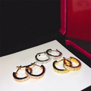 Designer Jewelry stud women Loves Earrings cleef Necklaces carti Screw Bracelet Van Party Ring Wedding Bangles Couple Gift bracelets Fashion Luxury jyugkhuerfge