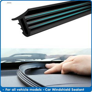 160cm universal windshield sealing board soundproof automobile rubber instrument panel seal strip