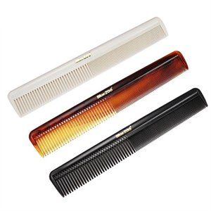 Hair Brushes 2 In 1 Men Comb Wide Coarse Fine Toothed Combination Portable Vintage Oil Back Aircrafts Head Hairdressing Styling