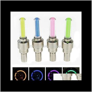 With No Battery Mountain Road Bike Bicycle Lights Leds Tyre Tire Vae Caps Wheel Spokes Led Light Ws60 Ixyin Qfzj6