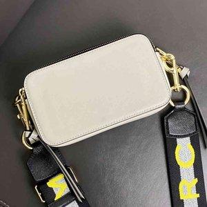 Womens bag snapshot Bag Camera bag matching color cross-body shoulder small luxury brand high quality