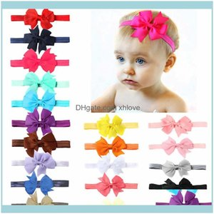 Aessories Baby, Kids & Maternitychristmas Bow Ribbon First Born Headband Princess Hear Wear Dovetail Tire Children Hair Band Baby Girls Drop