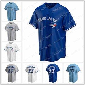 11 Toronto 2020 Jersey Blue Jays Vladimir Guerrero Jr. Cavan Biggio Hyun-Jin Ryu Yamaguchi Randal Grichuk Drury Hernández Jansen Uniforme