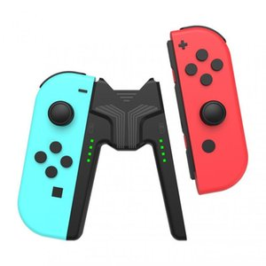 Game Controllers & Joysticks Charging Grip Bracket For Switch Joy Con Handle Gaming Controller Station JoyCon Deal