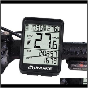 Bike Computers Accessories Cycling Sports & Outdoors Drop Delivery 2021 Inbike In321 Computer Waterproof Wireless Lcd Odometer Bicycle Speedo