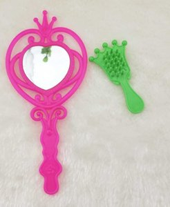 Change shangmeibi Barbie doll toy accessories jewelry products comb mirror